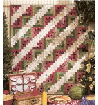 black mountain quilts watermelon picnic pattern 634484008056