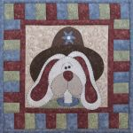 The Wooden Bear Quilt Designs: April Bunny