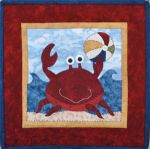 The Wooden Bear Quilt Designs: August Beach Fun