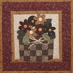 The Wooden Bear Quilt Designs: May Flowers