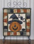 The Wooden Bear Quilt Designs: October Scare