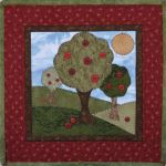 The Wooden Bear Quilt Designs: September Apple Harvest
