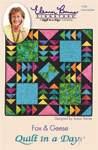 Fox & Geese: Eleanor Burns Signature Quilt Pattern 735272012580