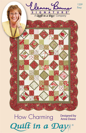 How Charming: Eleanor Burns Signature Quilt Pattern 735272012597 ... : quilt for a day - Adamdwight.com
