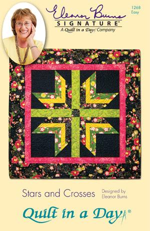 Stars And Crosses Eleanor Burns Signature Quilt Pattern