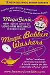MEGA Genie Magic Bobbin Washers  (for longarm)