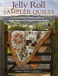 Jelly Roll Sampler Quilts Book by Pam & Nicky Lintott