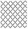 Crosshatch Background 9.5 inch Stencil 10183
