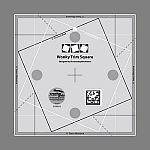 Creative Grids Wonky Trim Square Ruler 8in x 8in