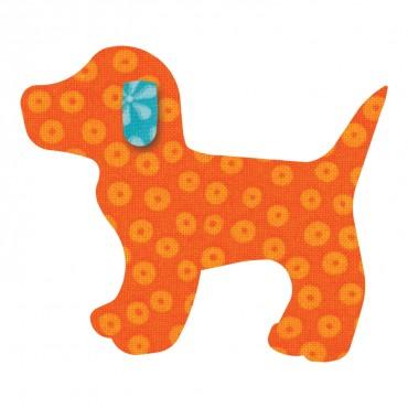 Accuquilt Die 55064 Gingham Dog