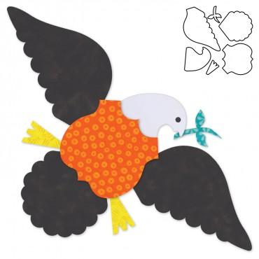 Accuquilt Die 55383 Eagle by Eleanor Burns