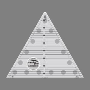 Creative Grids 60 degree Triangle - 8.5 Inch  CGRT60