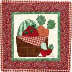 The Wooden Bear Quilt Designs: June Garden Vegetables