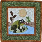 The Wooden Bear Quilt Designs: March Frog