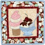 The Wooden Bear Quilt Designs: August Ice Cream