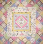 Rose Cottage Quilts - Heirloom Treasures crazy quilt