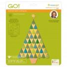 Accuquilt Die GO! Sparkle Tree by Sarah Vedeler