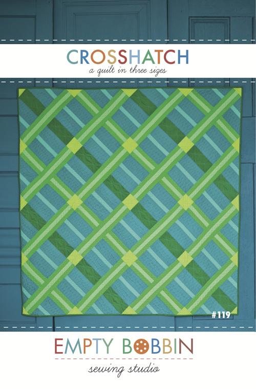 Empty Bobbin Crosshatch 609132294693 Quilt In A Day