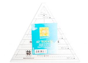 EZ 60 degree Triangle Template