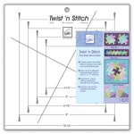 Twist N Stitch Ruler June Tailor