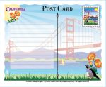 Clearance - California State Post Card
