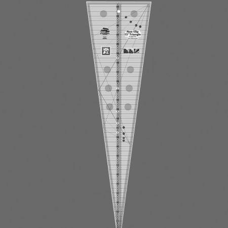 Creative Grids 15 Degree Triangle Ruler CGREU1