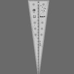 Creative Grids 15 Degree Triangle Ruler  CGREU1