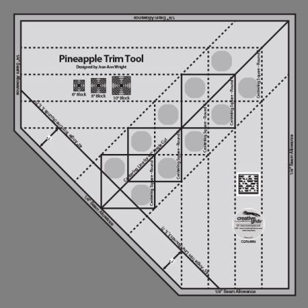 Creative Grids Pineapple Trim Tool  CGRJAW3