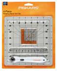 Fiskars 4 Piece Rotating Mat & Trim Set