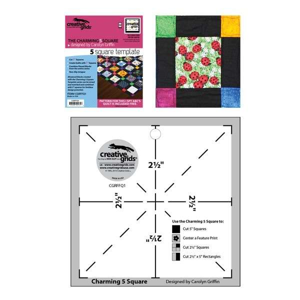 Creative grids charming 5in square template cgrffq1 743285001316 creative grids charming 5in square template cgrffq1 maxwellsz