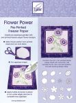 June Tailor - Flower Power Pre-Printed Freezer Paper