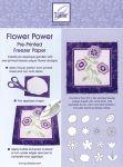 June Tailor - Flower Power Pre-Printed Freezer Paper