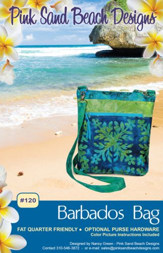 Pink Sand Beach Designs: Barbados Bag