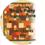 Strip TZZ - September - Fabric Frenzy - DVD
