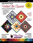Folded Star-Hot Pad-Square by Plum Easy