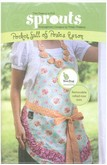 Two Peas in a Pod Sprouts - Pocket Full of Posies Apron