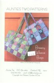 Clearance - Breezy Weave Bags - Aunties Two Patterns