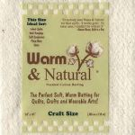 Warm & Natural Quilt Batting - Craft