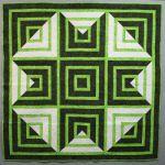 Cut Loose Press - Key Lime Star Pattern