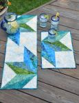 Cut Loose Press - Split Diamond Table Topper Pattern