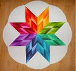 Cut Loose Press - Star Petal Table Topper