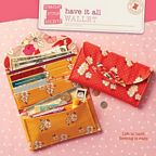 Have It All Wallet by Straight Stitch Society