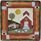 The Wooden Bear Quilt Designs: September Schoolhouse