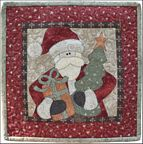 The Wooden Bear Quilt Designs: December Santa