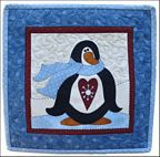 The Wooden Bear Quilt Designs: January Penguin
