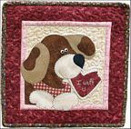 The Wooden Bear Quilt Designs: February Dog