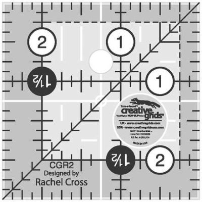 Creative Grids Quilting Ruler 2 1/2in Square  CGR2