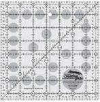 Creative Grids Quilting Ruler 7 1/2in Square  CGR7 - includes Sassy Squares Table Runner Pattern