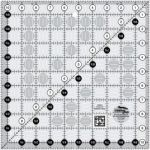 Creative Grids Quilting Ruler 10 1/2in x 10 1/2in CGR10 - includes Diablo Pattern