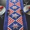 Sarah Veleder Fresh Ideas - Patriotic Stars Table Runner